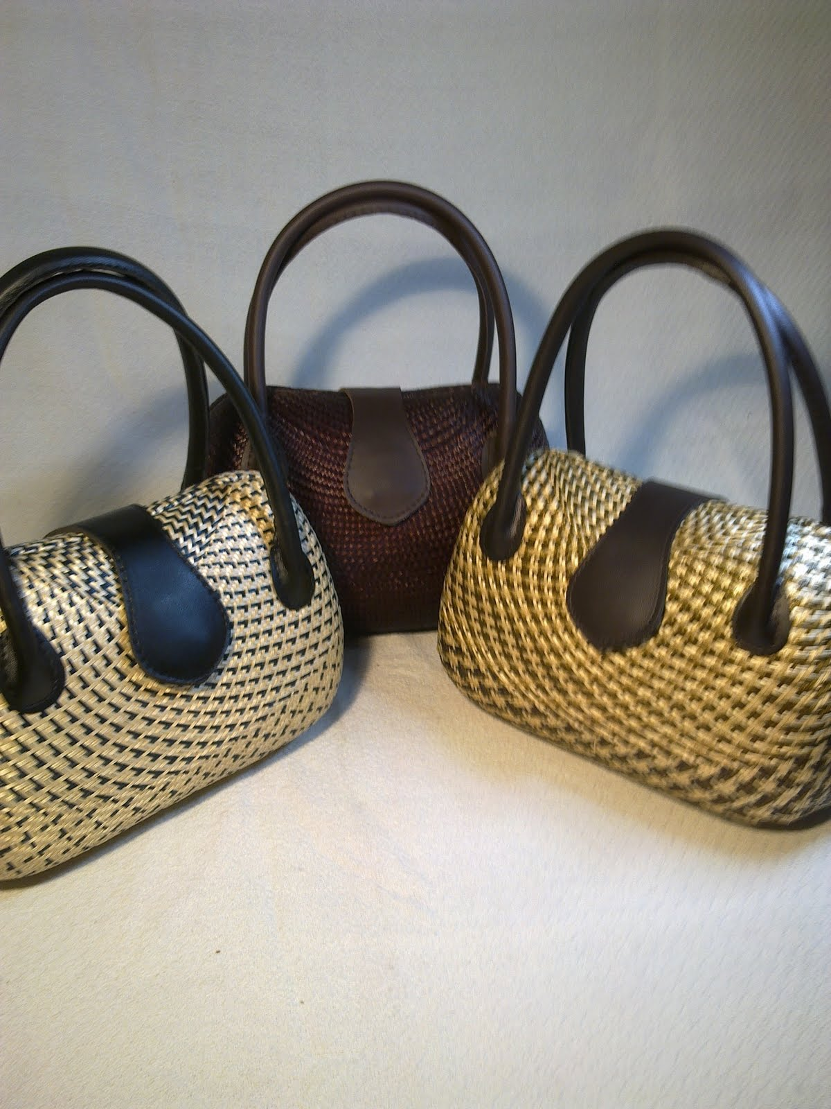 Philippine Handicraft Buntal Bags