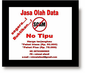 jasa olah data no scam