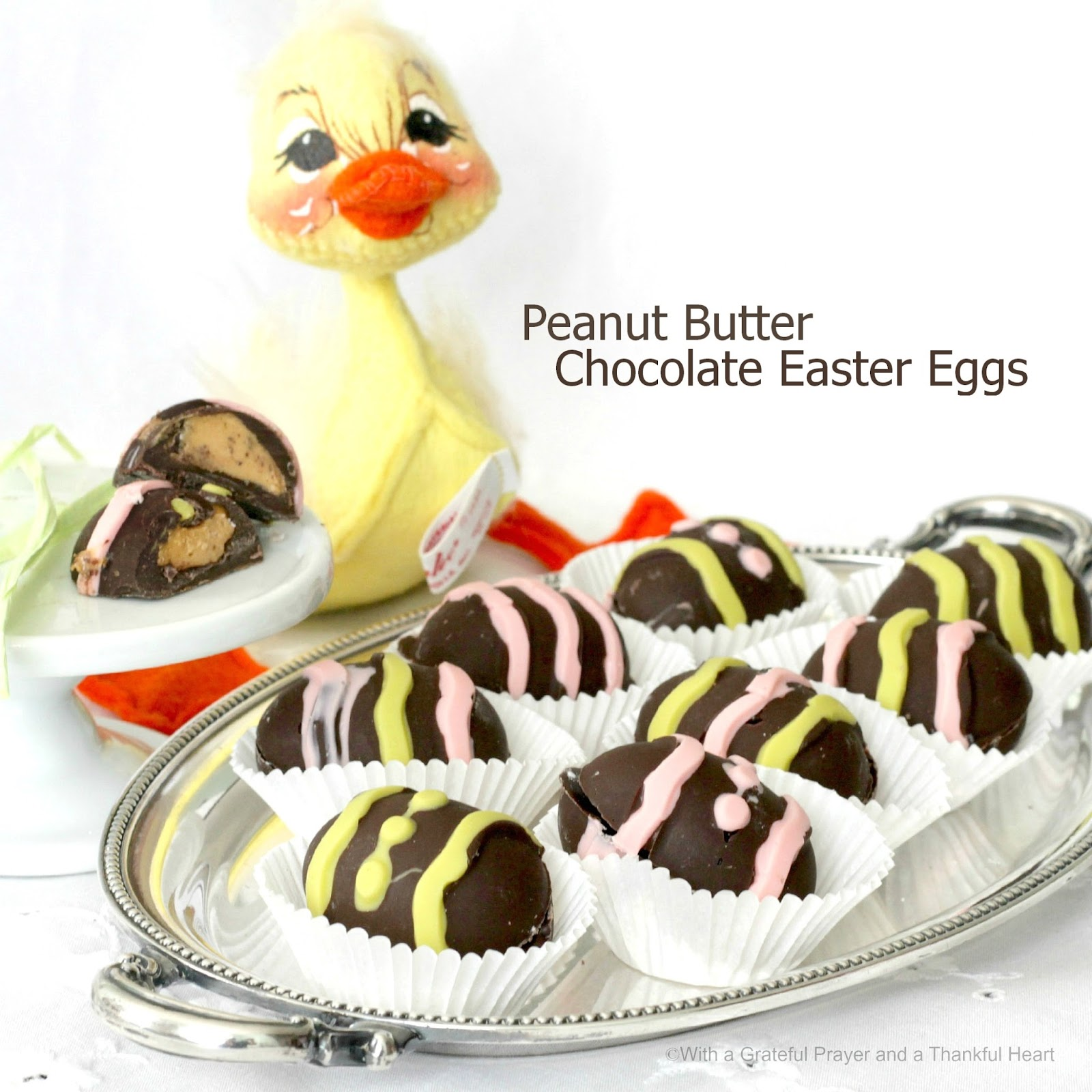 Easter Peanut Butter Eggs {Copycat Reese's Peanut Butter Eggs} recipes
