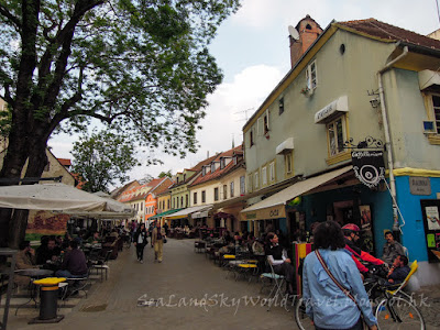 薩格勒布, Zagreb, Tkalciceva