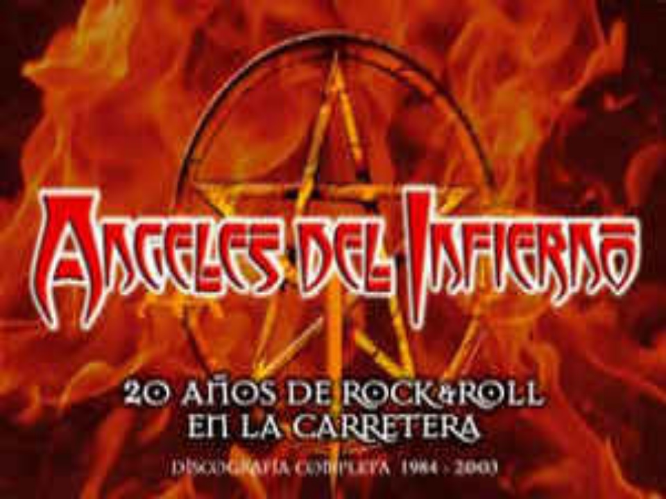 20 años de Rock and Roll, en la carretera Ángeles Del Infierno
