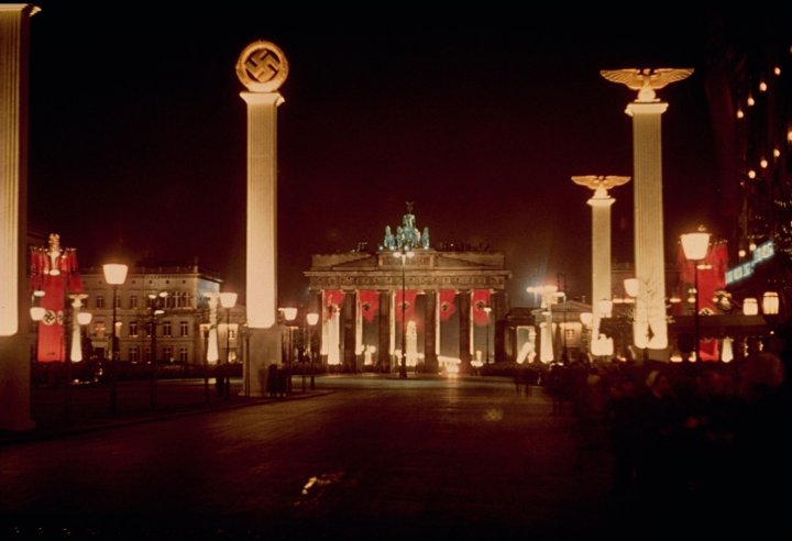 Who celebrated the birthday of Hitler in the USSR 50