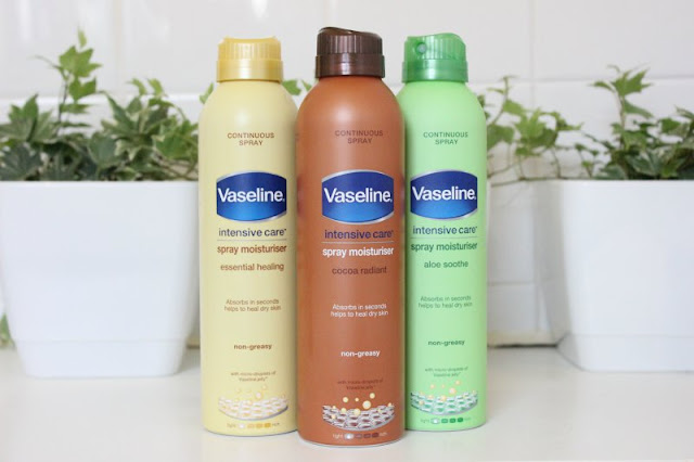 Vaseline Intensive Care Spray Moisturisers Review