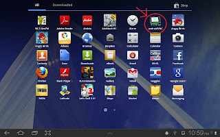 Install Backtrack on Android Tablet 5