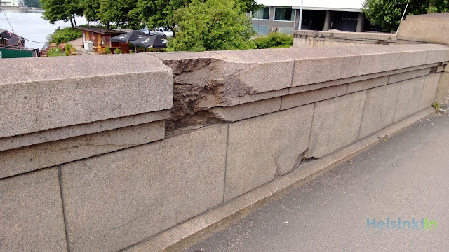 damage caused by shootings during WWII