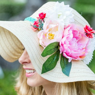 Make your own Kentucky Derby hat