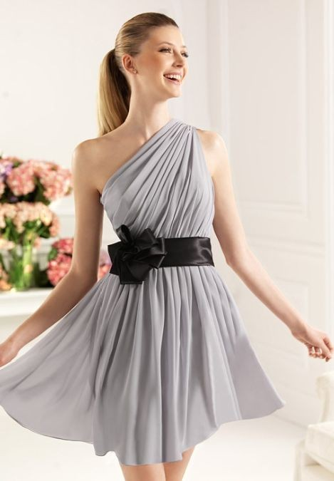 Whiteazalea Bridesmaid Dresses One Shoulder Bridesmaids Dresses In