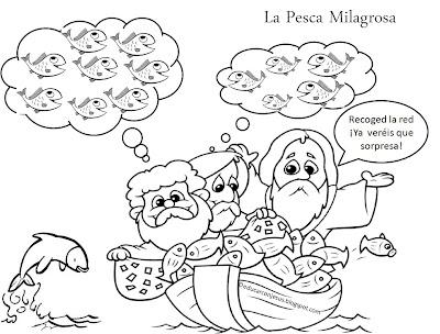 ME ABURRE LA RELIGIÓN: LA PESCA MILAGROSA