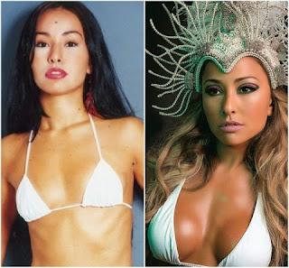 Sabrina Sato é conhecida pela beleza e irreverência. Mas, em 2003, quando participou da terceira edição do BBB, seu corpo era bem diferente.