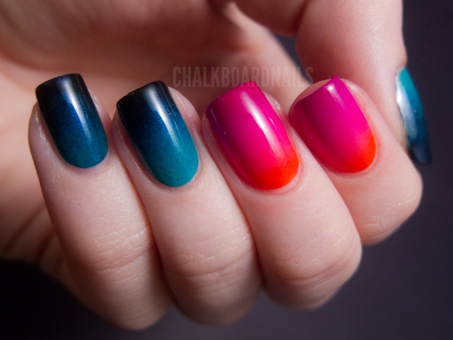 Urban Decay Showboat Nail Kit - Gradient Crazy | Chalkboard Nails ...