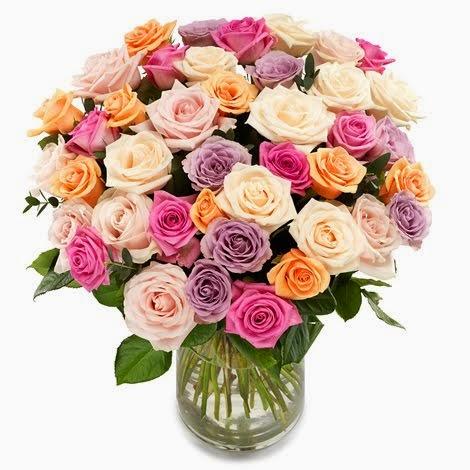 Gled noen med blomster i dag!  Klikk på bildet for å få dagens blomsterinspirasjon!