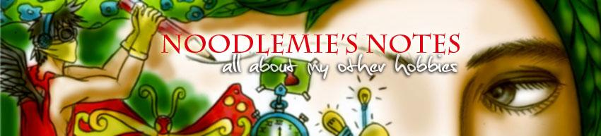 noodlemie's notes