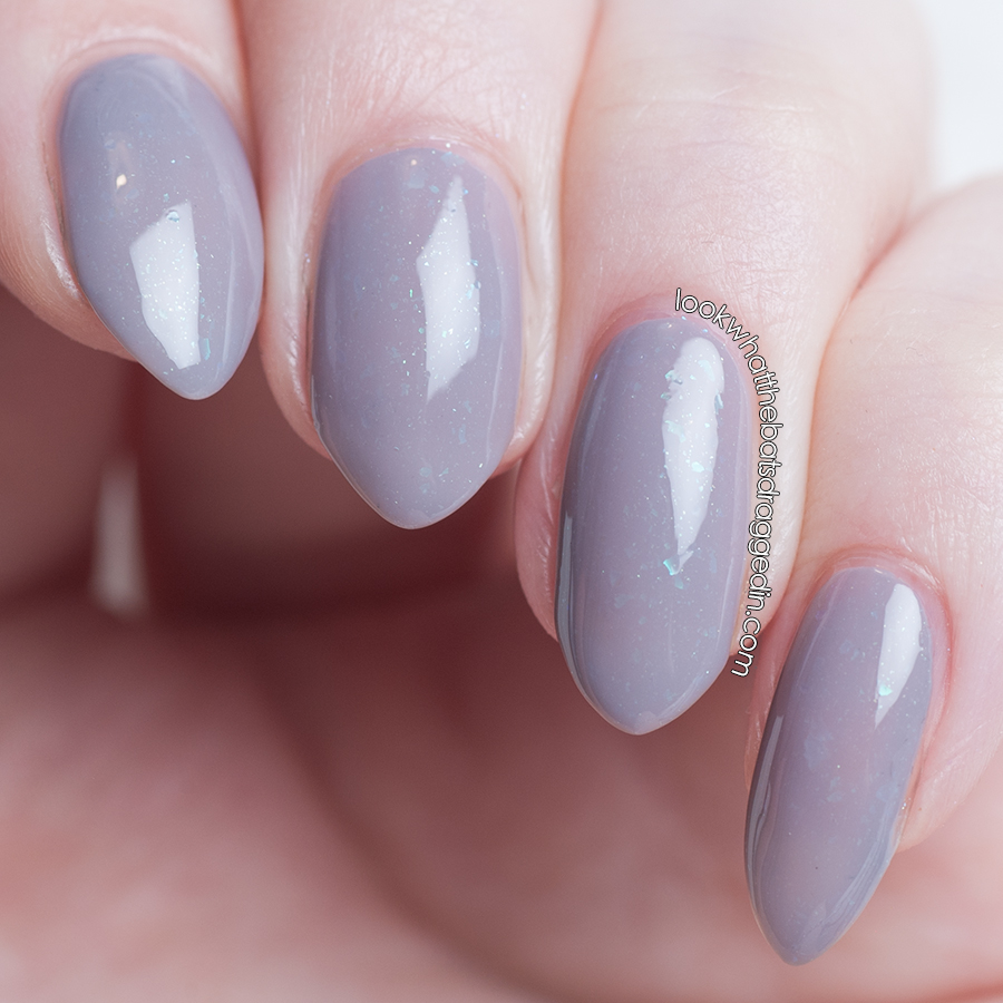 Pretty Serious Cosmetics Undercover Mermaid Lab Muffin nail polish collaboration