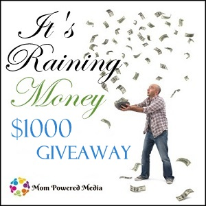 It's Raining Money Giveaway