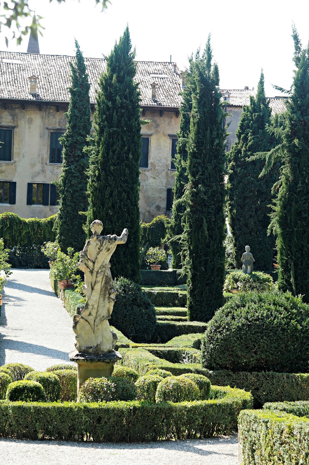 giardino giustin palatsi verona