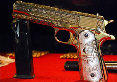 gangster mafias handgun custom made 60 thousand dollars