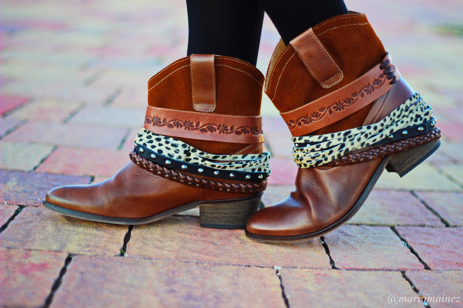 Botas Lollipops - animal print