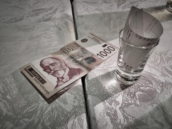 serbien, belgrad, billig mat,