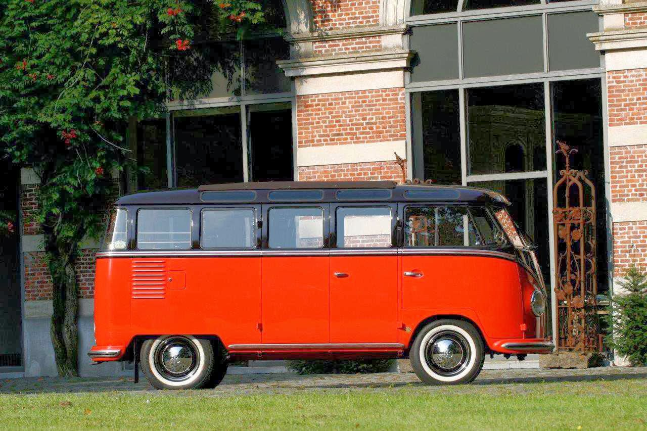 Vw bus for sale 1956 samba 23 window deluxe