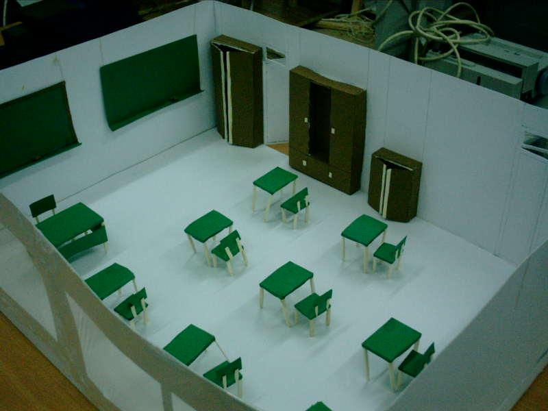 Tecnolog A Escolar E S O Proyecto Maqueta De Aula