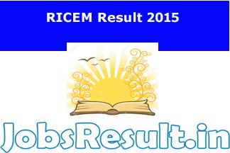 RICEM Result 2015