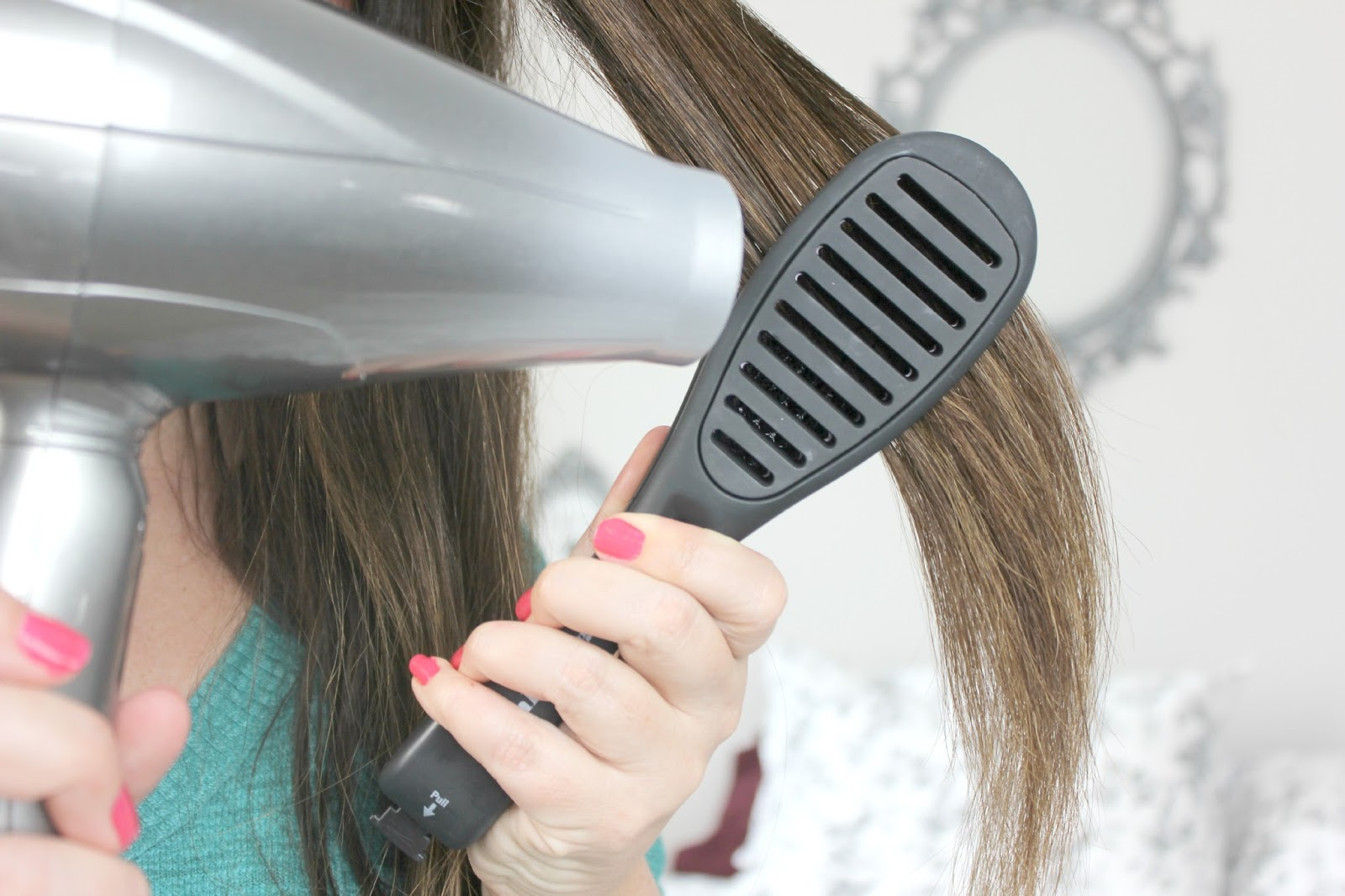 how to get smooth straight hair with a straightener