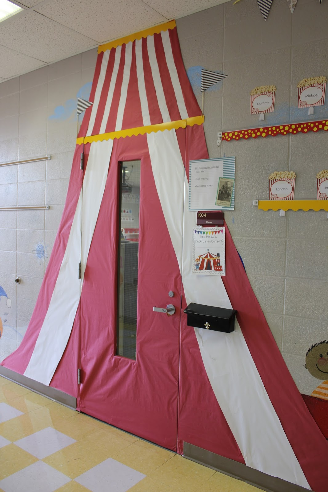 Circus Classroom Decoration ~ The kinder monster mrs house s carnival classroom
