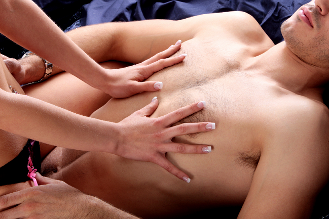 one testicle massage pics