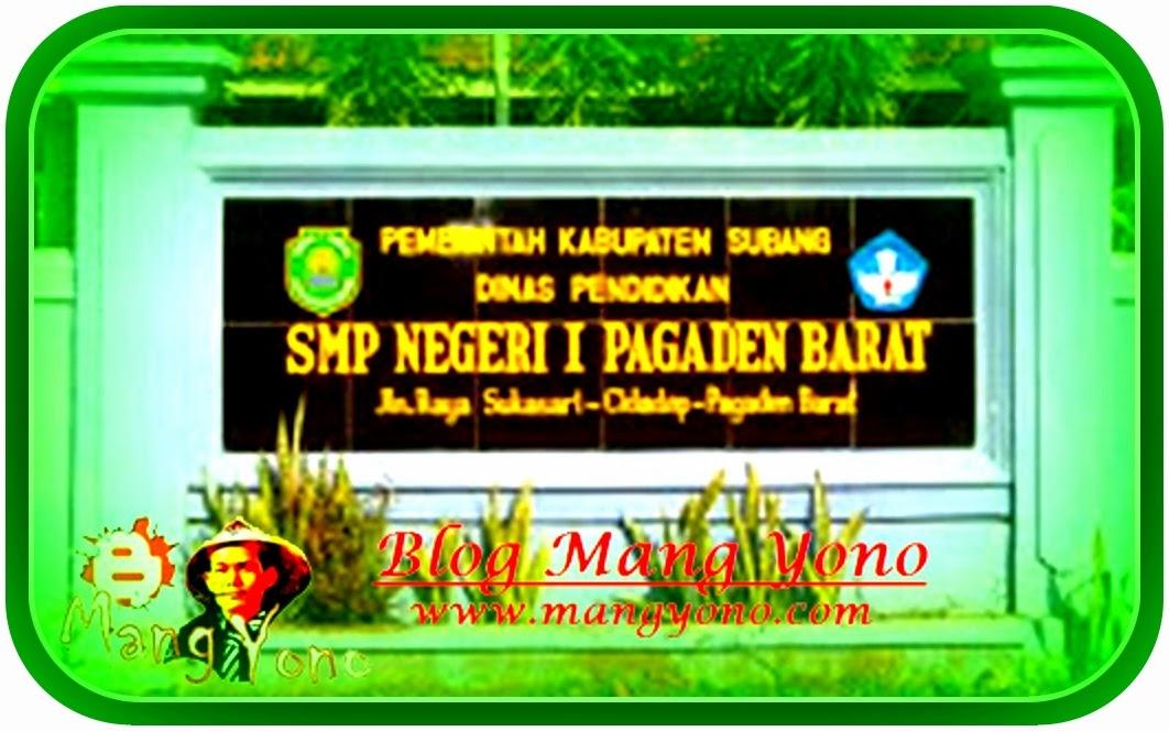 SMPN 1 Pagaden Barat, Subang