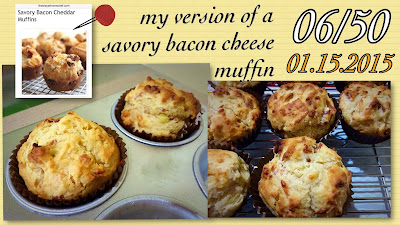 bacon cheese muffin