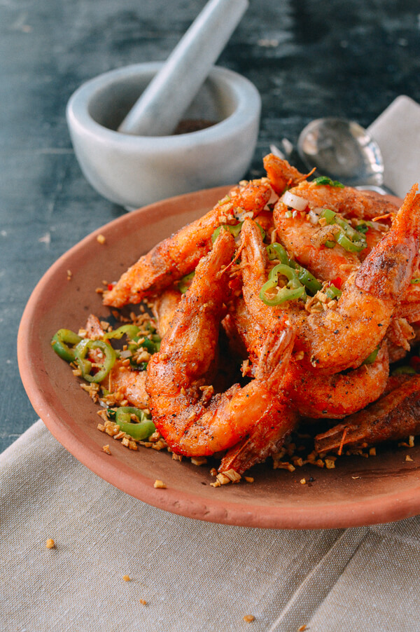 Salt and Pepper Shrimp 13 | Chinese Recipes