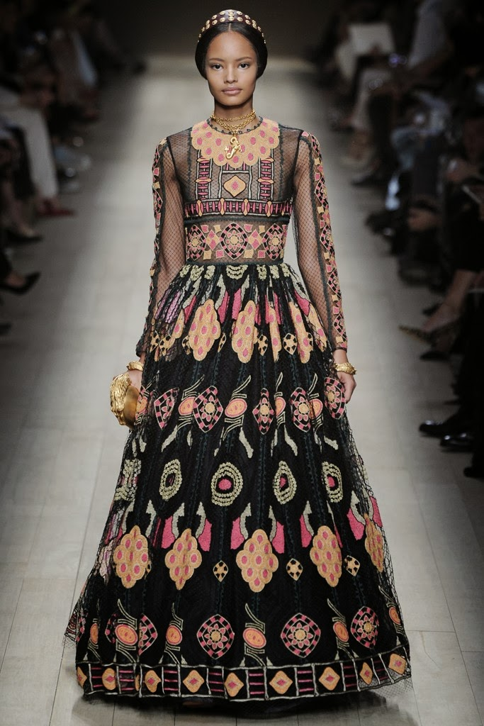paper lantern: Valentino 2014 gowns