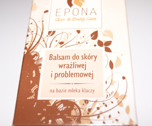 EPONA - rodzime kosmetyki na bazie mleka klaczy - Balsam do skóry wrażliwej i problemowej