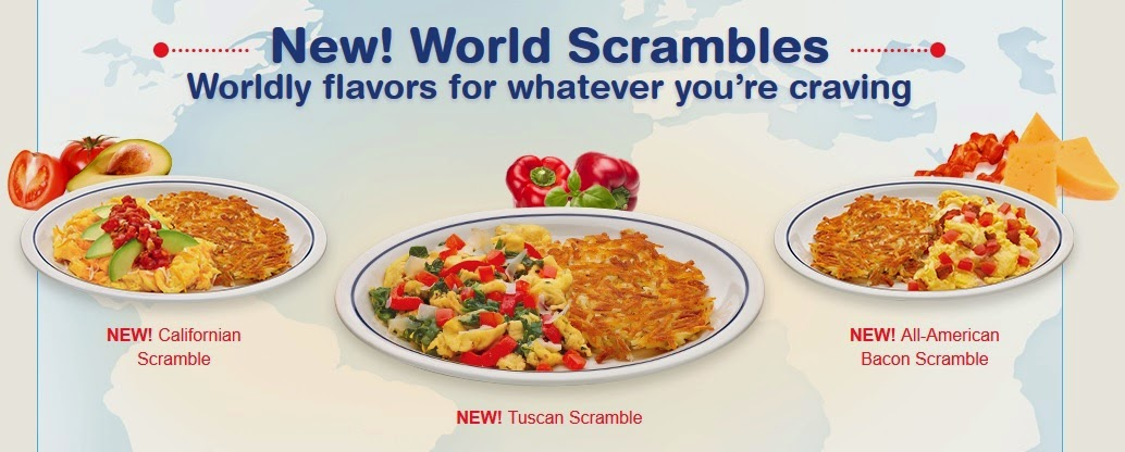 IHOP World Scrambles