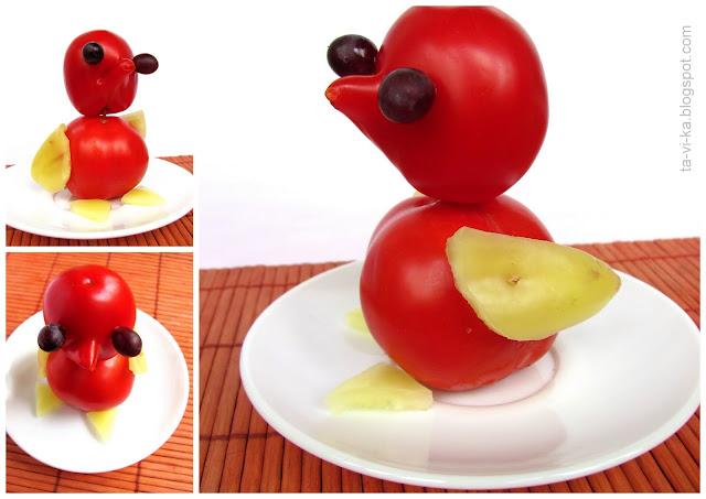 поделка украшение еды food art