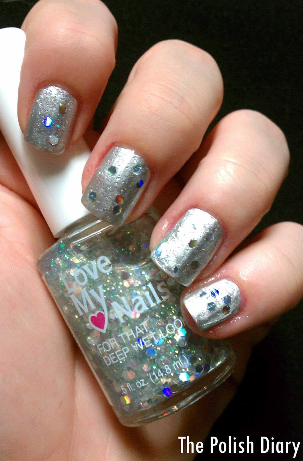 The Polish Diary: Love My Nails Glitter