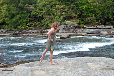 DSC 0182 - Earth Medallion Yoga Skirt and Tank