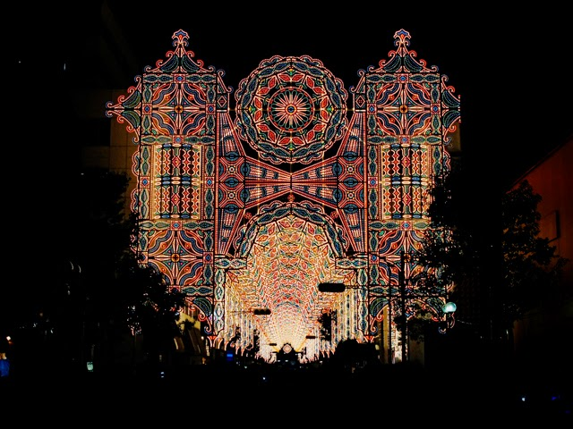 Unique Japan Tours Kobe Luminarie Illuminations Christmas Romantic