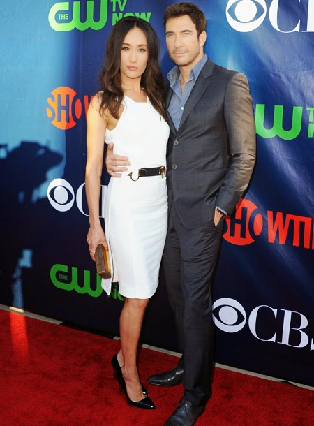 Dylan McDermott and Maggie Q engaged