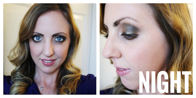 night time smoky eye
