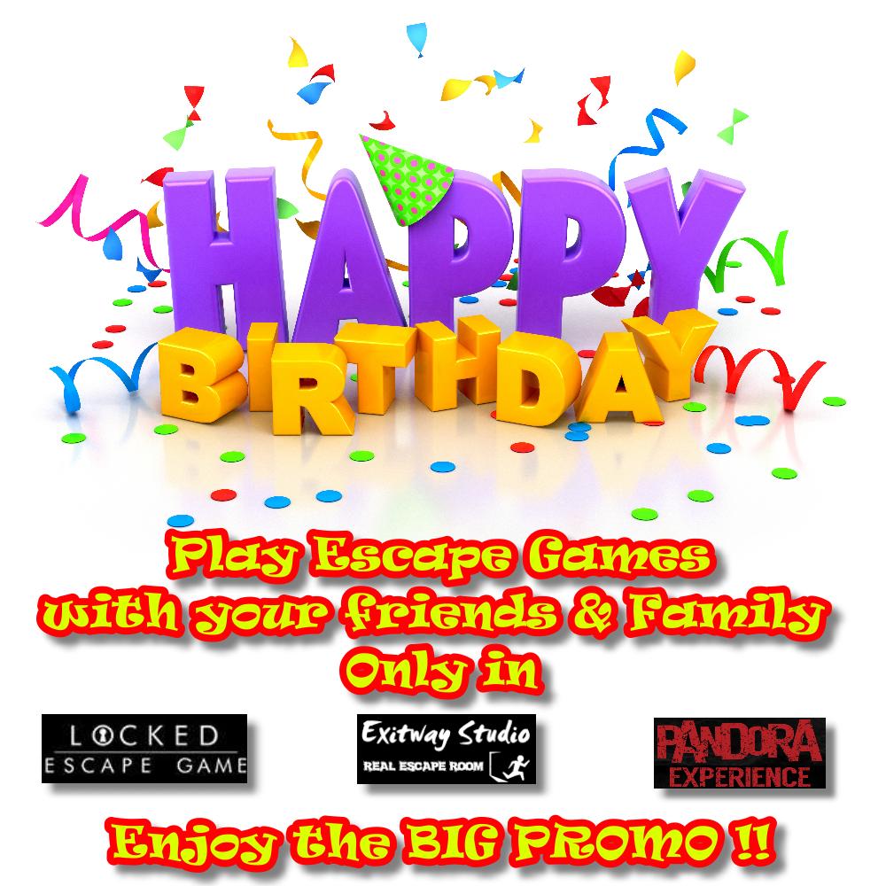 Happy Birthday Voucher Gallery