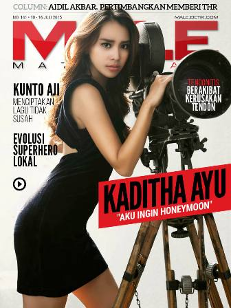 Download Gratis Majalah MALE Mata Lelaki Edisi 141 Cover Model Kaditha Ayu | MALE Mata Lelaki 142 Indonesia | Cover MALE 141 Kaditha Ayu, AKu ingin Honeymoon | www.insight-zone.com