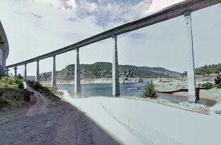 Viaducto sobre Contreras