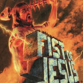 Fist of Jesus - cortometraje con Jesus y muchos zombis