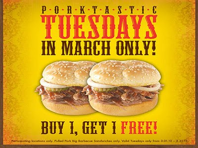 Buy 1 get 1 free restaurant coupons
