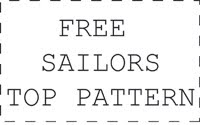 Free sailors top pattern