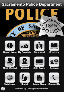 Sacramento Police Department releases free iPhone and iPad app