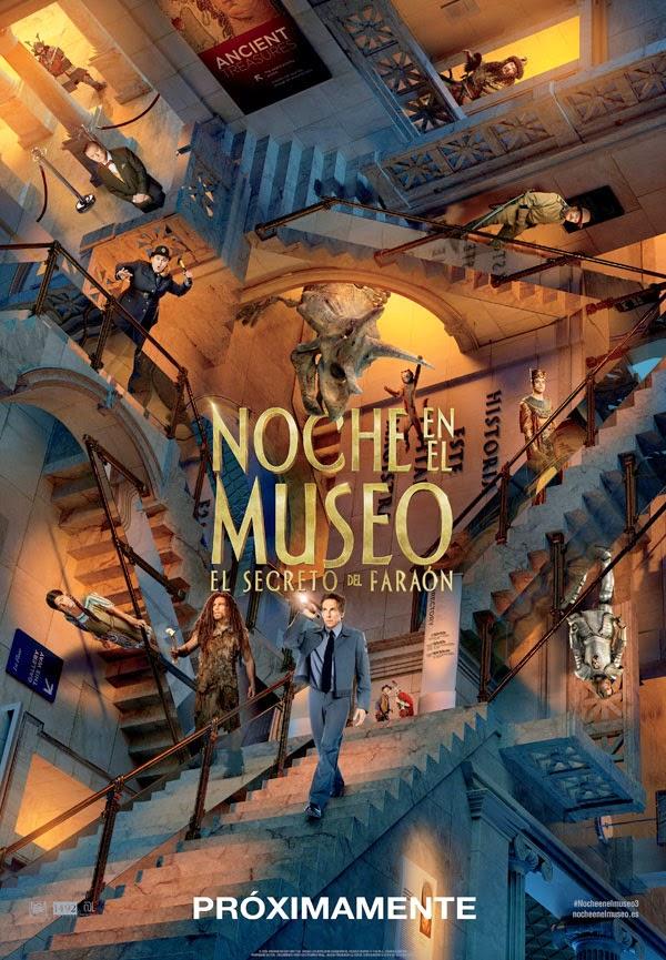 Noche En El Museo: El Secreto Del Faraón (25-12-2014)