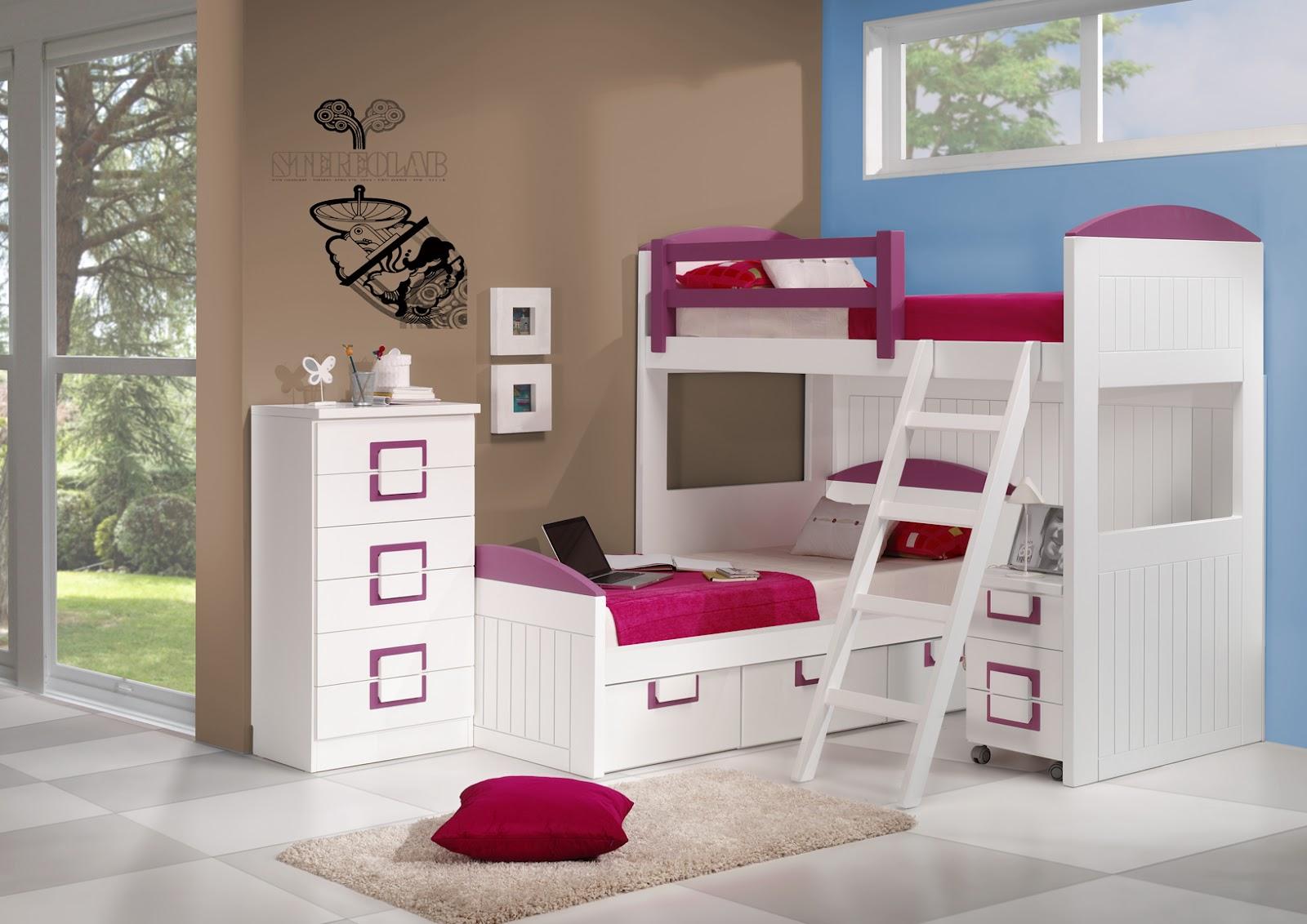 Dormitorios infantiles para ni as ni os de 0 1 2 3 4 y 5 a os - Decoracion habitacion nina de 5 anos ...