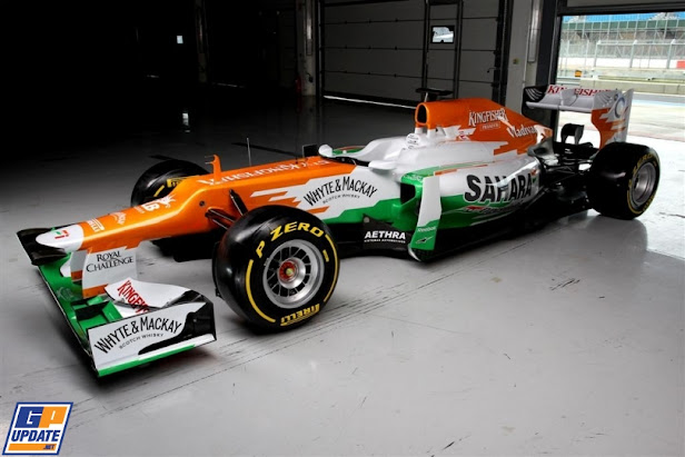 SAHARA FORCE INDIA - Coche oficial de F1 2012